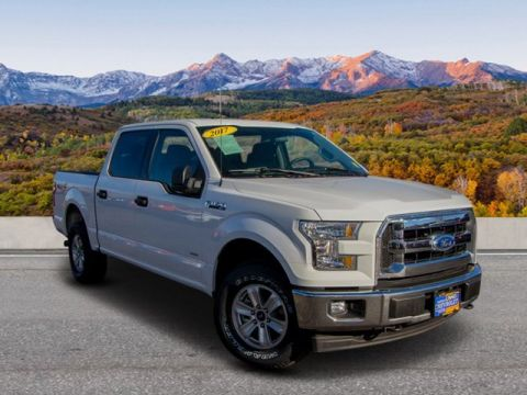 Pre-Owned 2017 Ford F-150 4WD CC