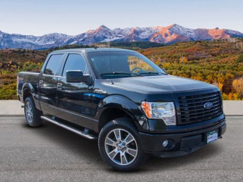 Pre-Owned 2014 Ford F-150 4WD CC