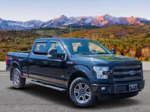 Pre-Owned 2015 Ford F-150 4WD CC