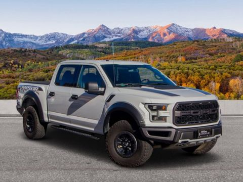 Pre-Owned 2017 Ford F-150 Raptor