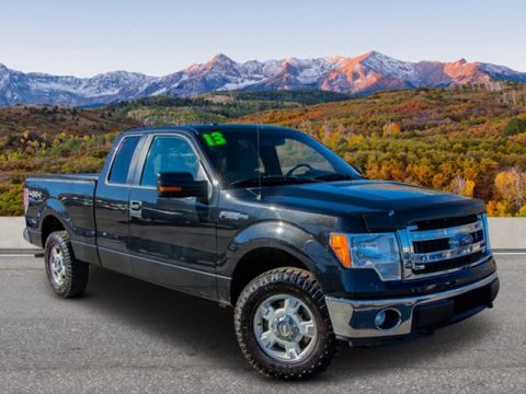 Pre-Owned 2013 Ford F-150 4WD SC