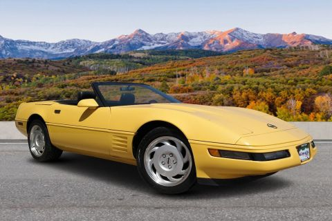 Pre-Owned 1991 Chevrolet Corvette