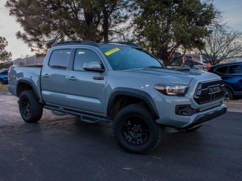 Pre-Owned 2017 Toyota Tacoma TRD Pro Double Cab 5' Bed V6 4x4 MT