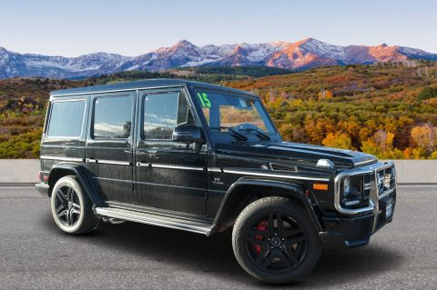 Pre-Owned 2015 Mercedes-Benz G-Class AMG® G 63 SUV