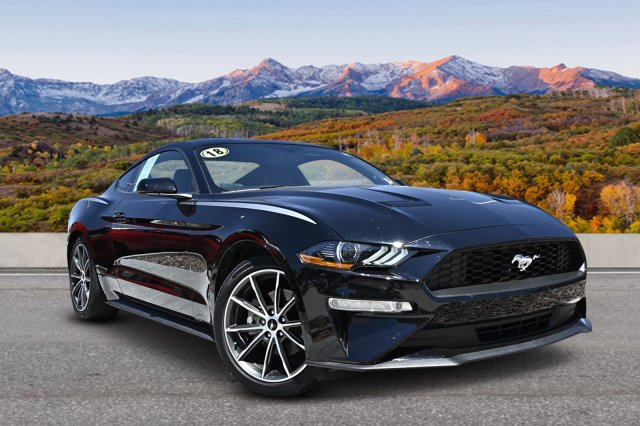 Pre-Owned 2018 Ford Mustang Eco Coupe