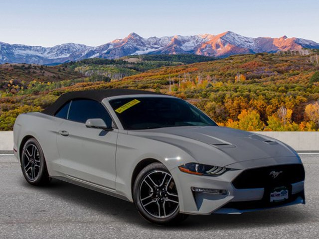 Pre-Owned 2018 Ford Mustang Eco Conv