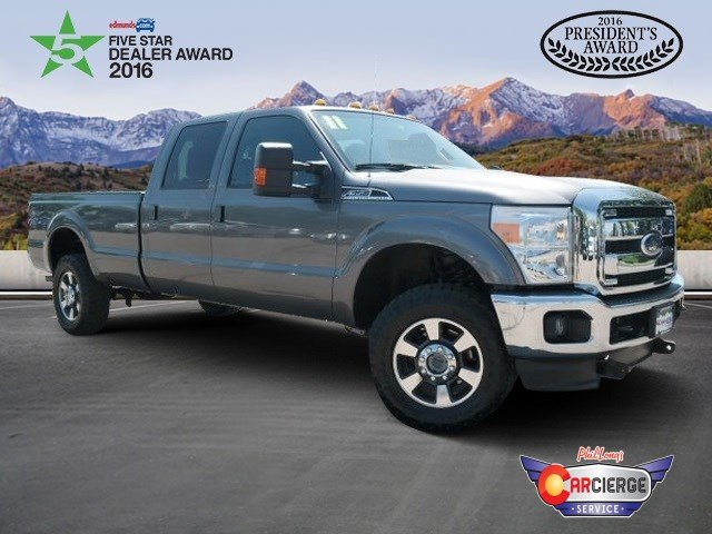 Pre-Owned 2011 Ford Super Duty F-350 SRW Lariat