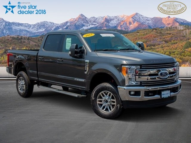 Pre-Owned 2017 Ford Super Duty F-350 SRW 4x4 CC SRW