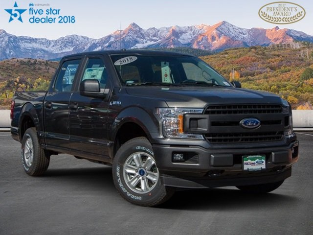 Pre-Owned 2018 Ford F-150 4WD CC