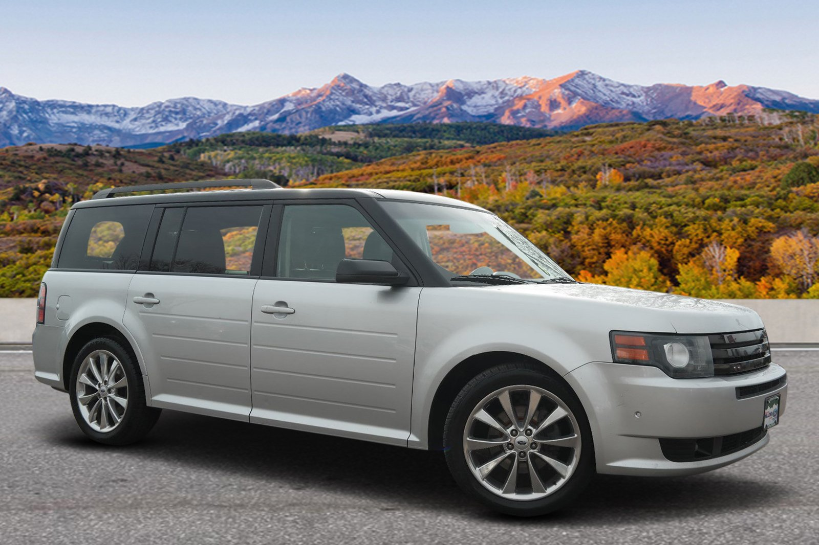 Pre-Owned 2012 Ford Flex Titanium w/EcoBoost