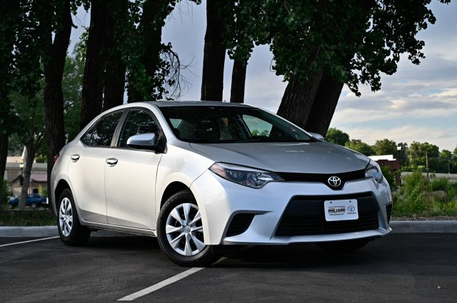 Colorado Springs Toyota >> Pre Owned 2016 Toyota Corolla L Fwd 4dr Car