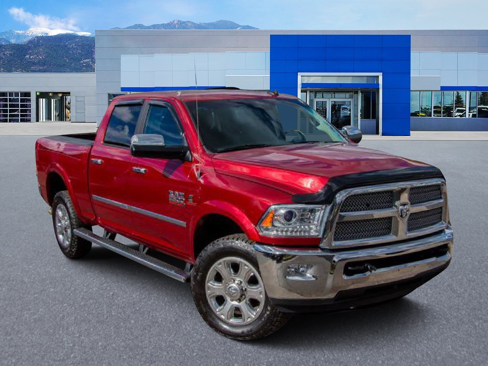 Pre-Owned 2015 Ram 2500 Longhorn Limited