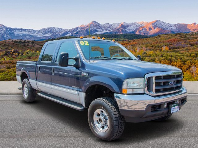 Pre-Owned 2002 Ford Super Duty F-250 4WD CREW