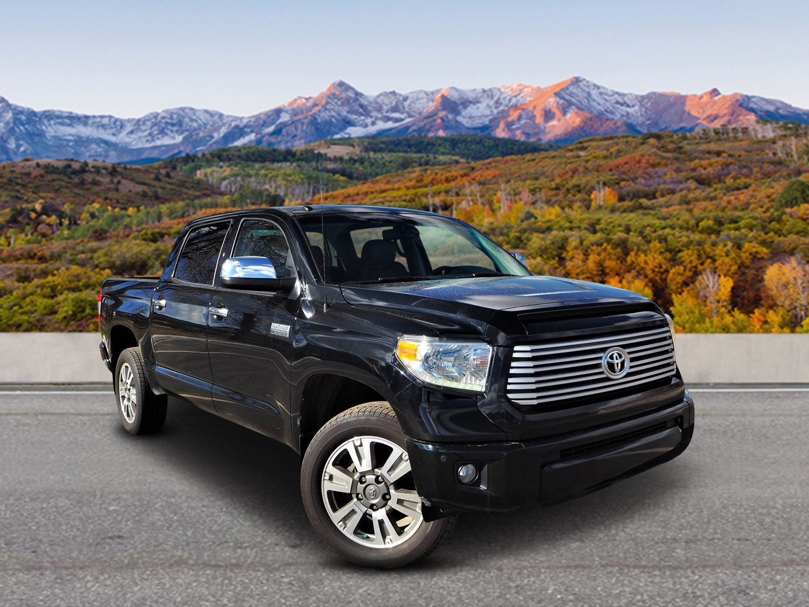 Pre-Owned 2015 Toyota Tundra CrewMax 5.7L V8 6-Spd AT Platinum