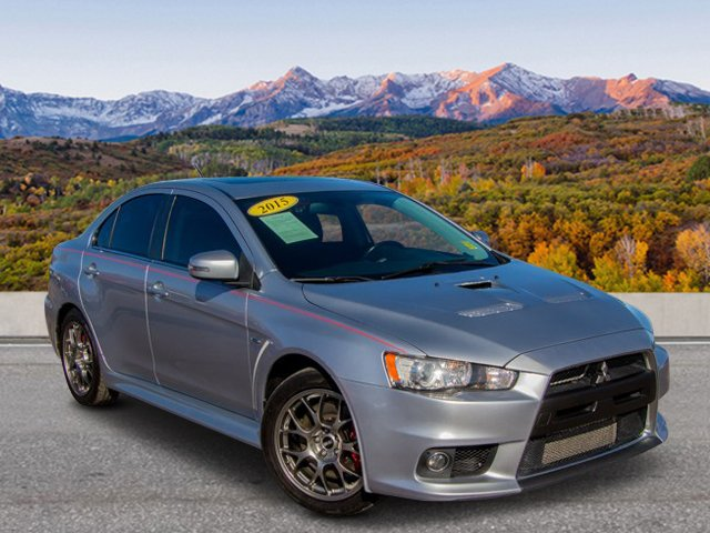 pre-owned 2015 mitsubishi lancer evolution mr 4dr car in colorado