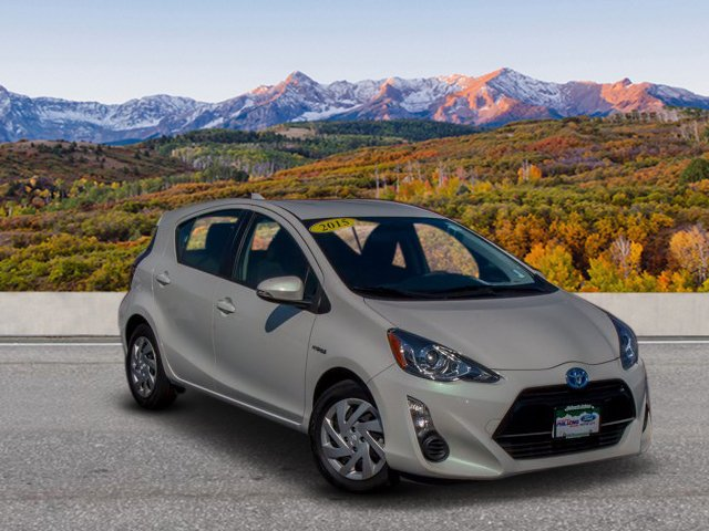 Pre Owned 2015 Toyota Prius C Hatchback In Colorado Springs 218013a