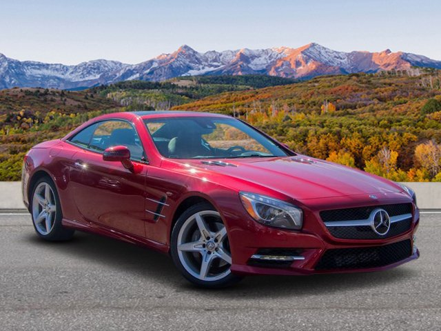 Certified Pre Owned 2016 Mercedes Benz SL SL 550