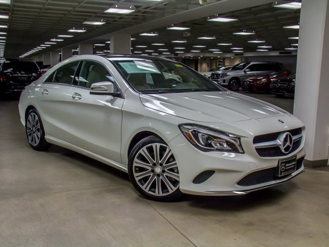 new 2017 mercedes benz cla cla 250 coupe in colorado springs b217157 mercedes benz of. Black Bedroom Furniture Sets. Home Design Ideas