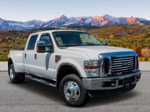 Pre-Owned 2008 Ford Super Duty F-350 DRW 4WD CREW DRW
