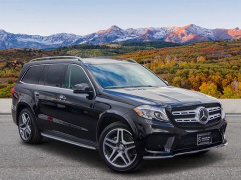 Certified Pre-Owned 2017 Mercedes-Benz GLS GLS 550