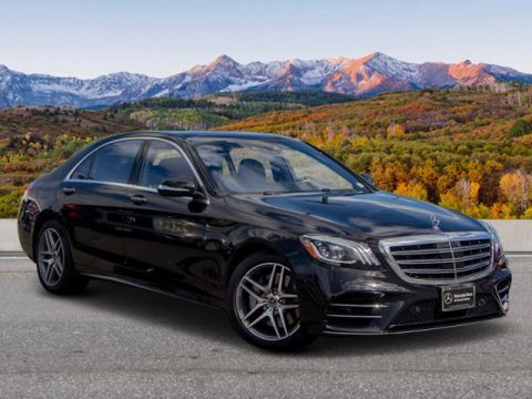 Pre-Owned 2019 Mercedes-Benz S-Class S 560